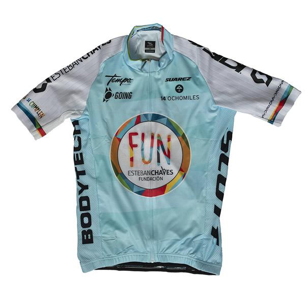 ciclismo jersey articulo fundacion esteban chaves