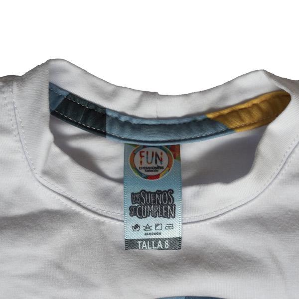 cuello rendondo camiseta blanca funchaves