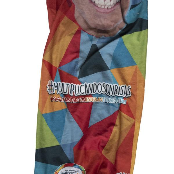 cuello de colores merchandising fundacion