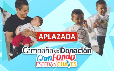 La campaña de donación Gran Fondo Esteban Chaves se realizará en 2021